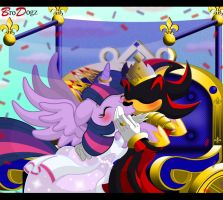 Comm: Shadow and Twilight Sparkle - Royal Carriage by BroDogz