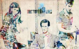 Doctor Who Wallpaper 2 by AliciaOrima
