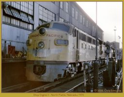 Shop Engine II by classictrains