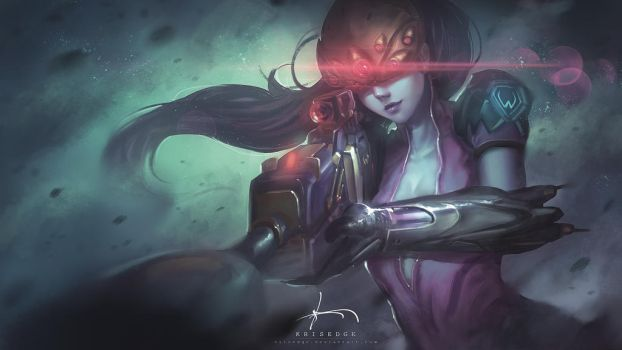 Widowmaker : Repainting in 2017 by Krisedge