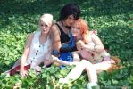 FFXIII Girl trio by otakitty