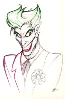 That Joker Smile by zillabean