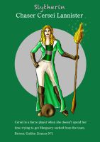 Cersei Slytherin Chaser by guad
