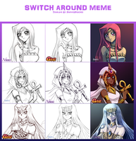 YGO Switch Around Meme of Awesomeness by ShootingStar03