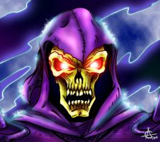 Portrait of Skeletor by oICEMANo