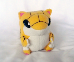 Sandshrew Pokedoll by xBrittneyJane