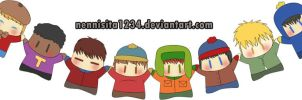 south park chibis by nenychan123