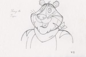 Tony the Tiger by Artagedden