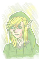 Female Link!~ by CloudKiller7