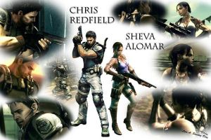 Resident evil 5 Wallpaper by redfield37