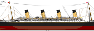 RMS Olympic :Post War: by Crystal-Eclair