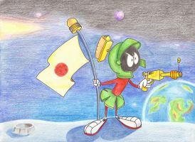 Marvin the Martian by ehofferle