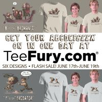 ABCDEFGeek TeeFury In One Day by OtisFrampton