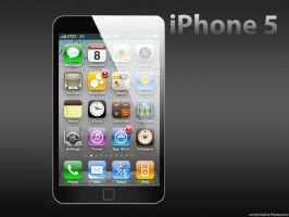 iPhone 5 concept by RVanhauwere
