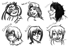 Wc Early Birds Doodles by Mystic-Snail