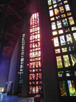 Coventry Cathedral stained glass windows by PhilsPictures
