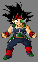 Kid Bardock by hsvhrt
