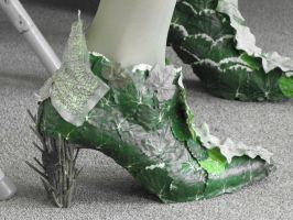 Poison Ivy Boots by Wiccanslyr