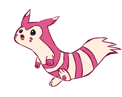 Shiny Furret by puffley115