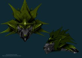 Lion Transformer head design by Dani-Rattlehead