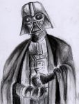 Vader Pencil Study by philippeL