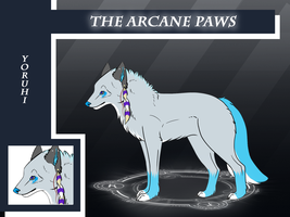 Arcane Paws Application -- YoruHi by Akariteachan