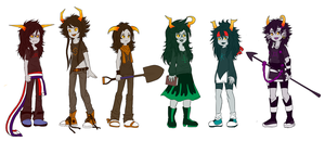 Fantrolls: The Girls (Completed) by Izariez