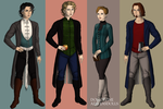 Paranormal Story Cast by EchoesOfAnEnigma