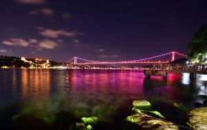 Bridges over Bosphorus by vabserk