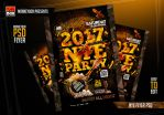 NYE Flyer PSD by AndyDreamm