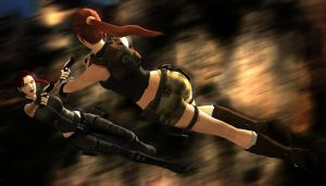 Lara VS Dopple by James--C
