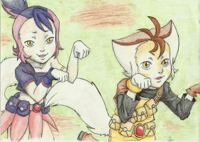 Willy Kat and Kit by Babel-the-Butt