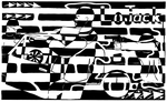 Car Jacking Maze for LoJack Ad by ink-blot-mazes