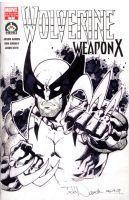 Weapon X sketch cover 1 by ToddNauck