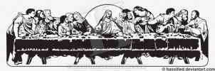 The Last Supper by hassified