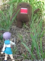 Wild Domo kun appeared. by SushiiPandahh