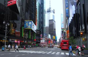 Times Square, New York City by emizael