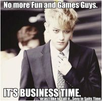 Tao_Business Time_MACRO by dancingdots