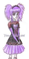 VD in Visual Kei by VictorianDame