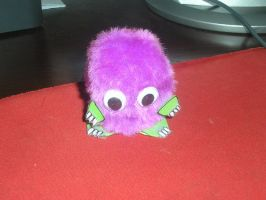 My Little Purple Kuriboh by akatsukifangirl91
