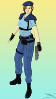 Jill Valentine - S.T.A.R.S. by LordRoderick