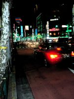 street of Tokyo by pgChan