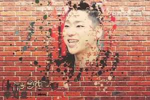 HAPPY BIRTHDAY ZICO 3 by BadMinz