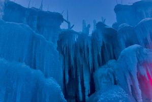 Ice Castle Fragments by sequential