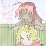 FMA - Roze and Edward by LiLcreativepinay
