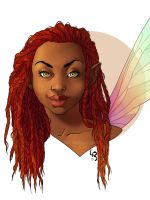 Josara the fairy - COMMISSION by mad-smile