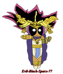 Chibi Atem by Evil-Black-Sparx-77