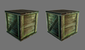 Wooden crate . by Tpose