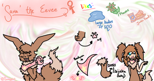 Sama the Eevee reference by Samagirl