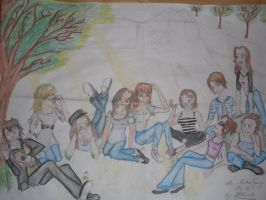 Friends 2010 - incomplete by Attitudet